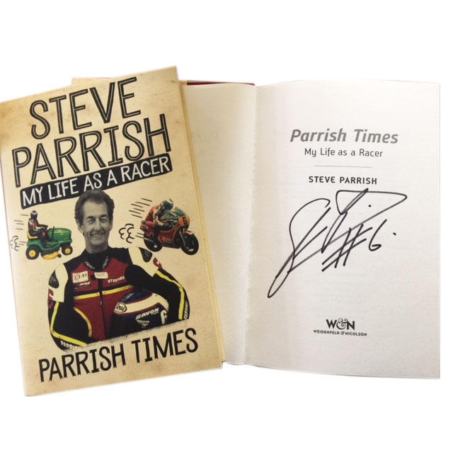 Parrish Times Paperback – My Life As A Racer Signed Copy